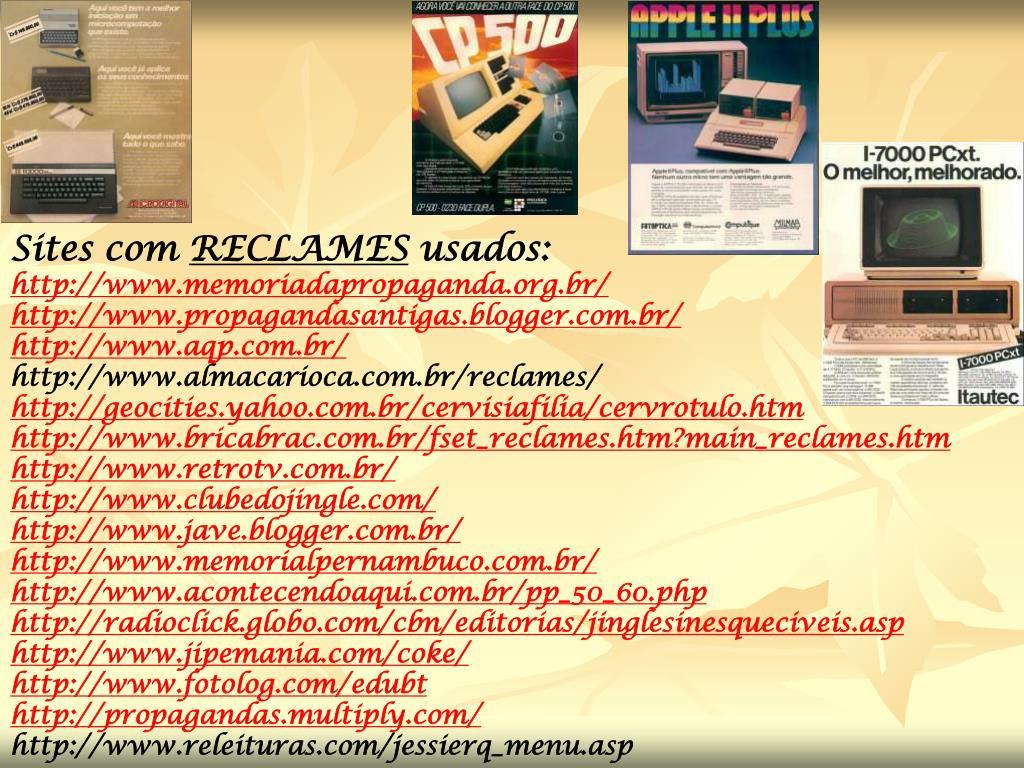 Sites com