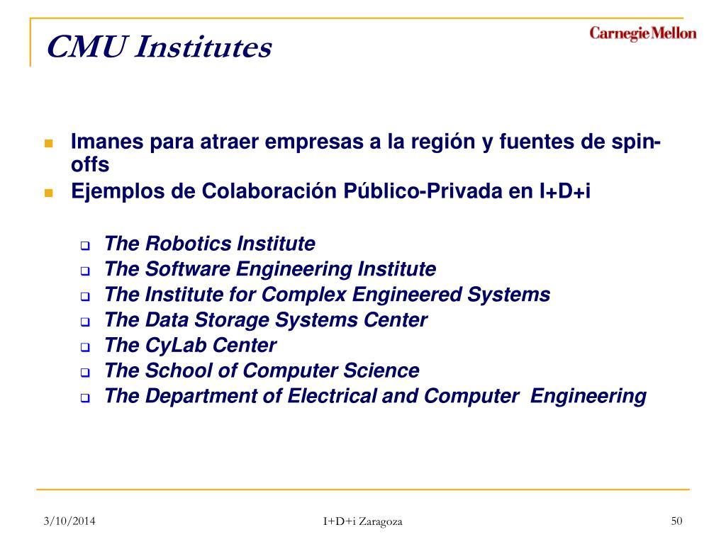 CMU Institutes