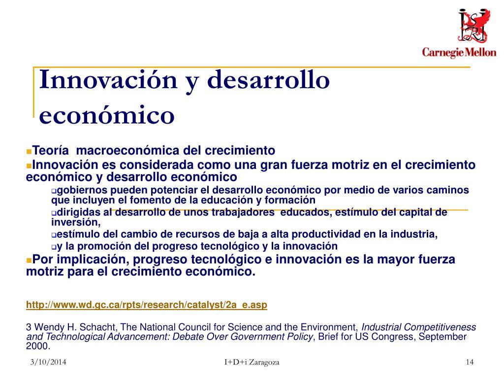 Innovación y desarrollo económico