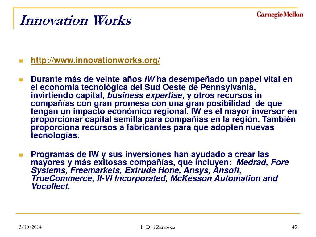 Innovation Works