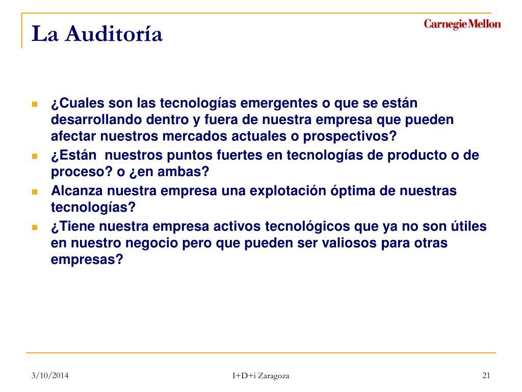 La Auditoría