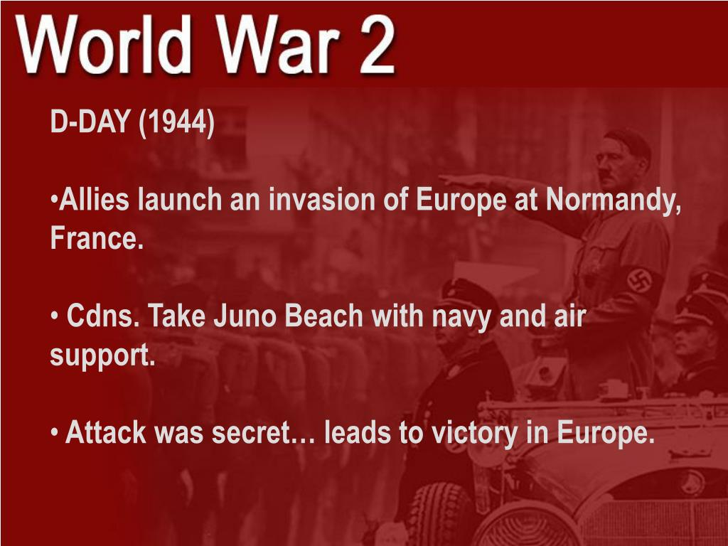 D-DAY (1944)