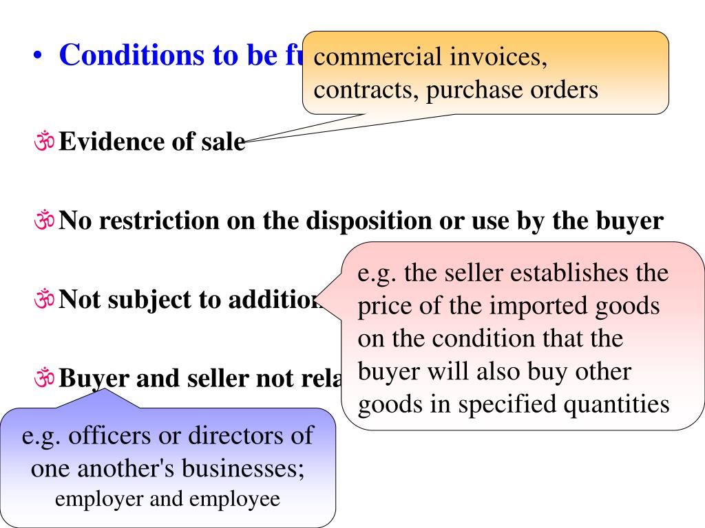 commercial invoices,