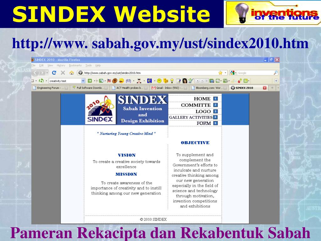 SINDEX Website