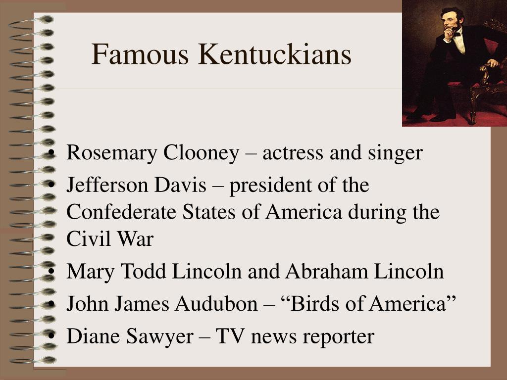 Famous Kentuckians
