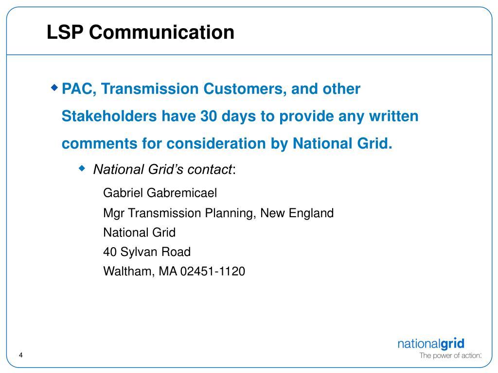 LSP Communication