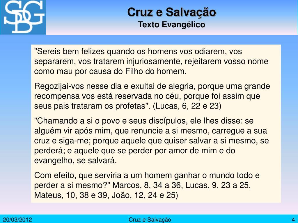 Cruz e Salvação