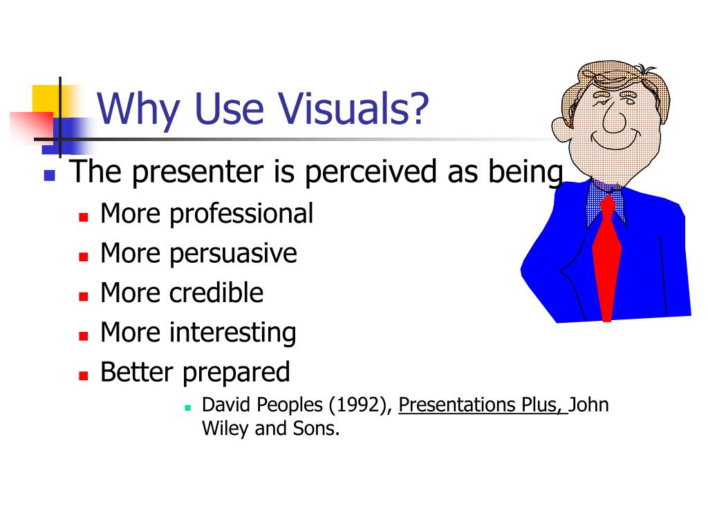 Why Use Visuals?