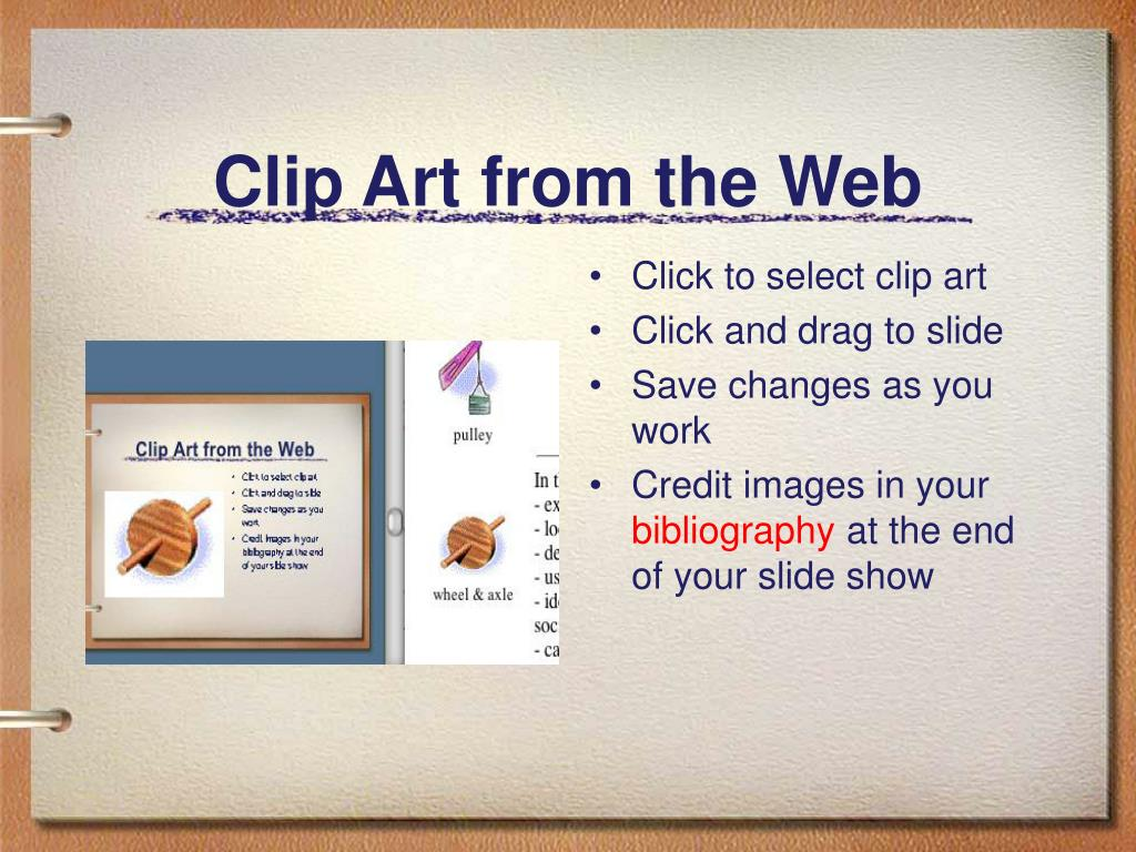 Clip Art from the Web
