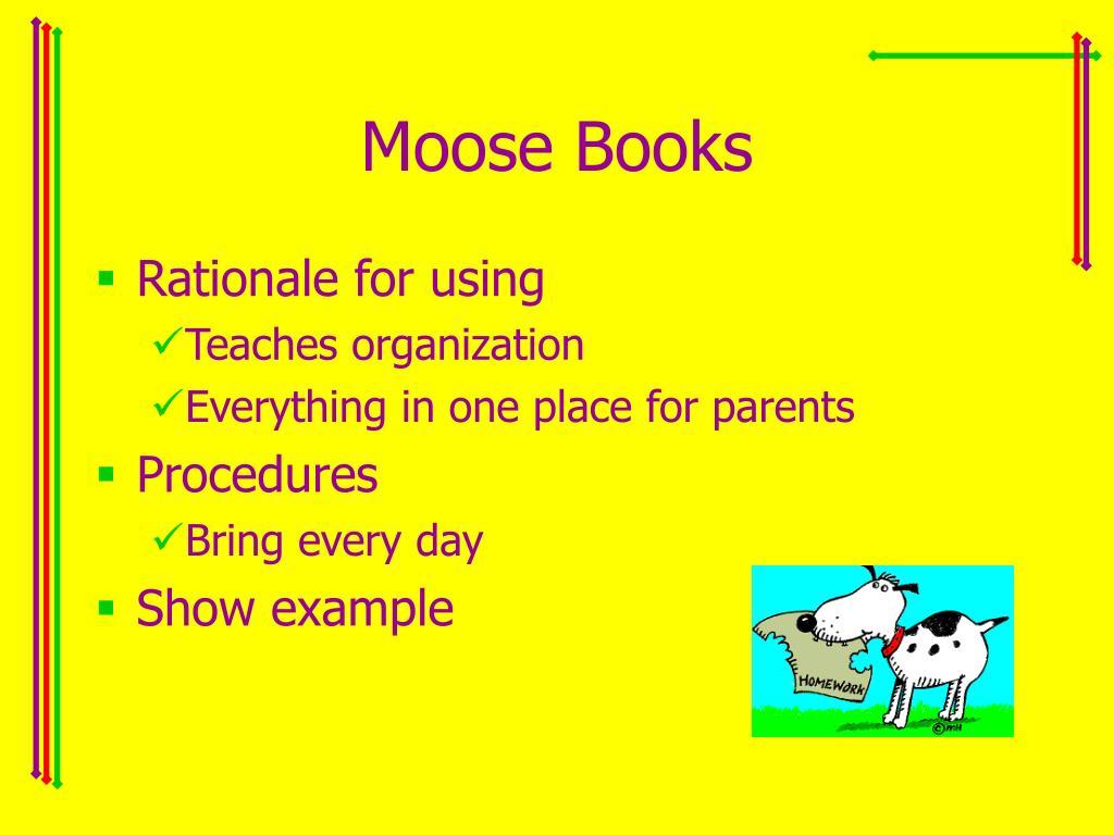 Moose Books