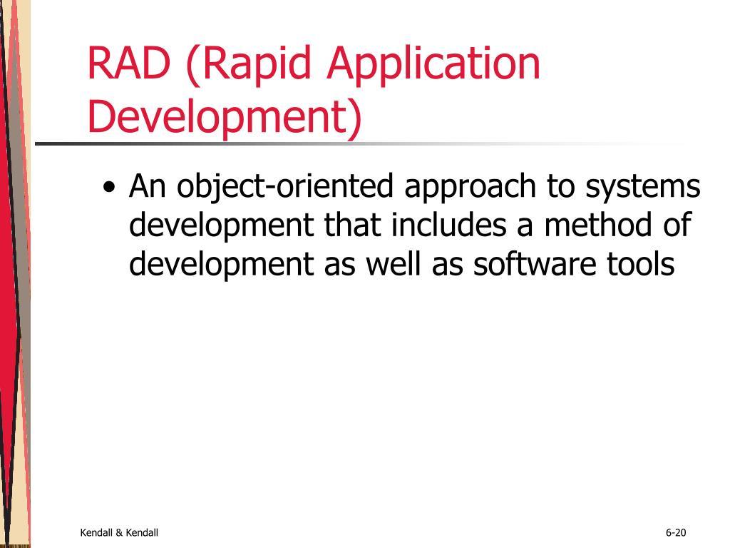 RAD (Rapid Application Development)