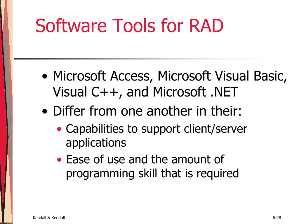 Software Tools for RAD