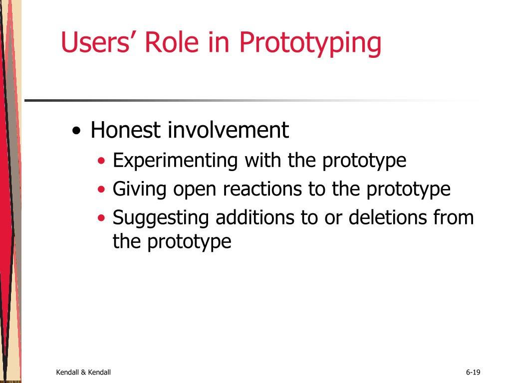Users' Role in Prototyping