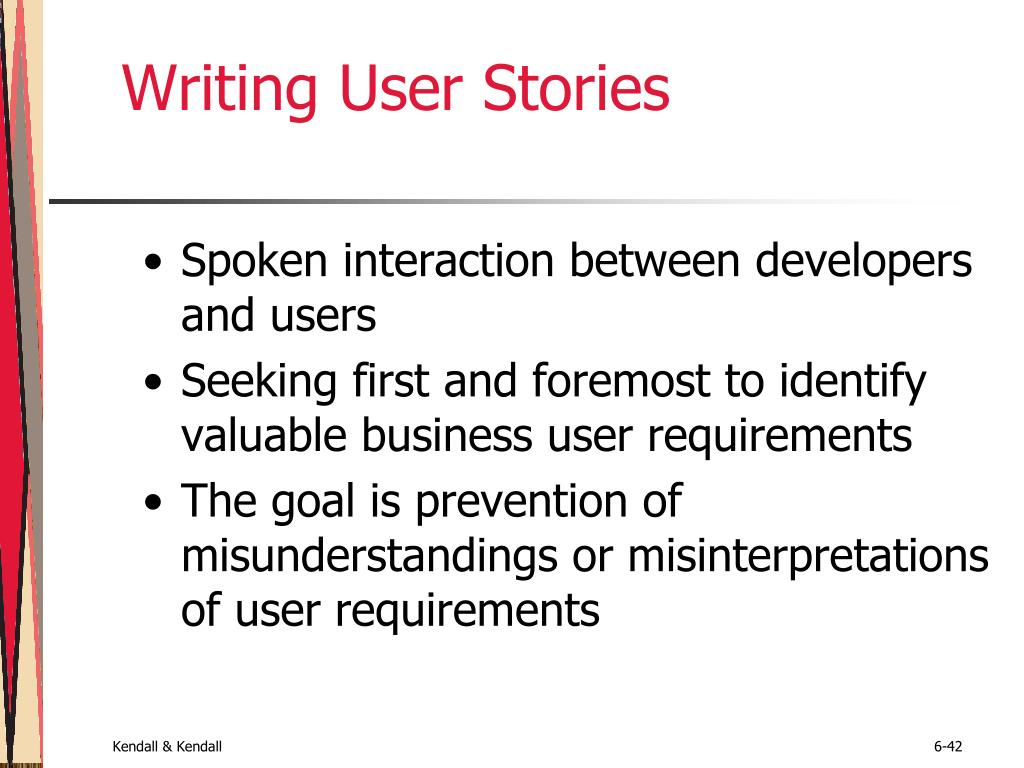 Writing User Stories