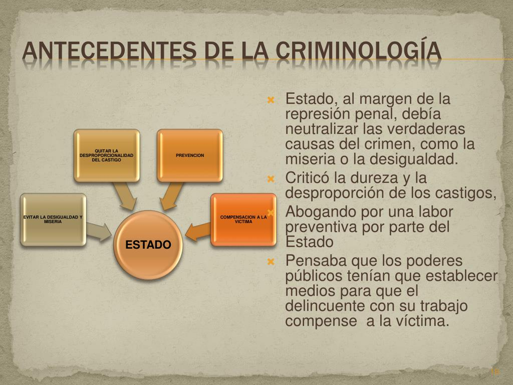 PPT - HISTORIA DE LA CRIMINOLOGIA PowerPoint Presentation