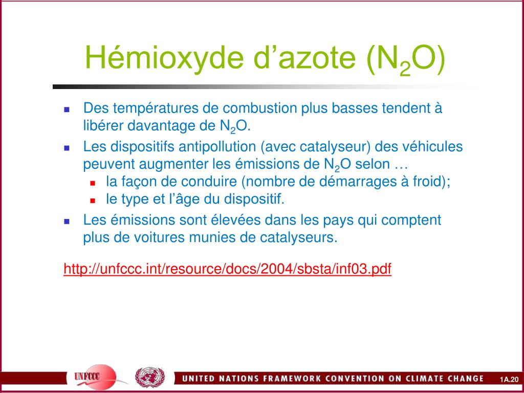 Hémioxyde d'azote (N