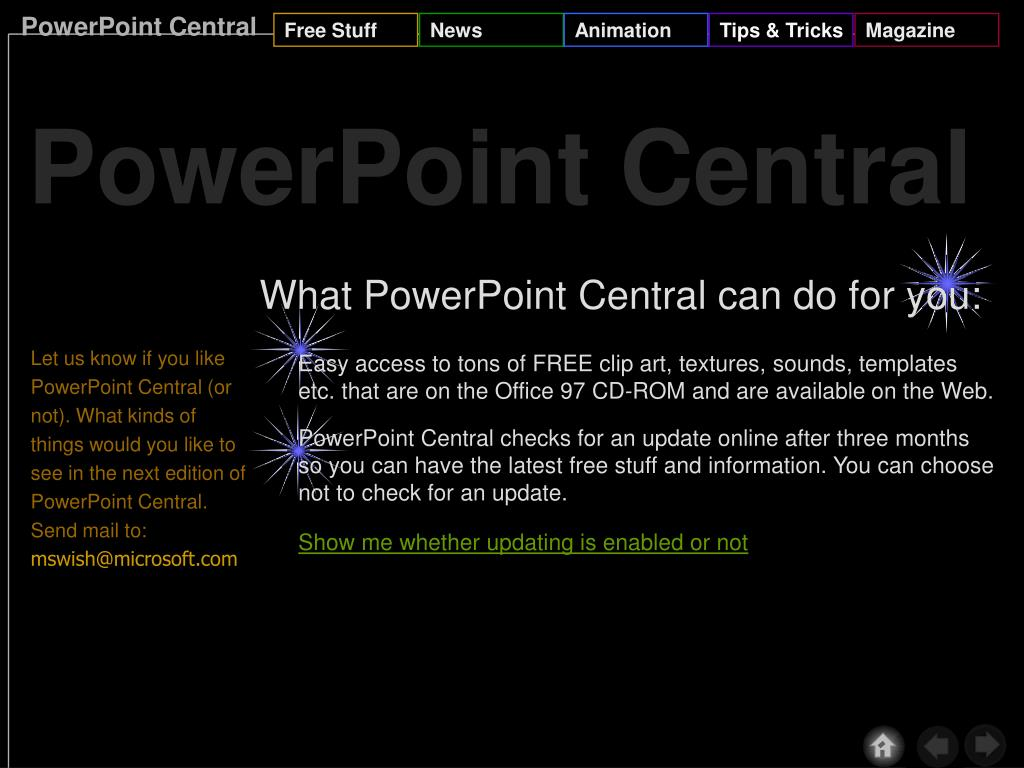 PowerPoint Central