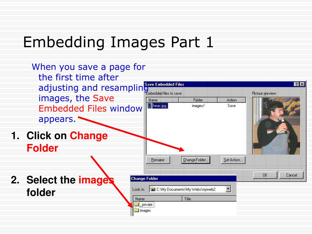 Embedding Images Part 1