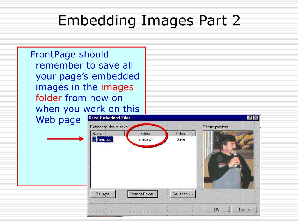 Embedding Images Part 2