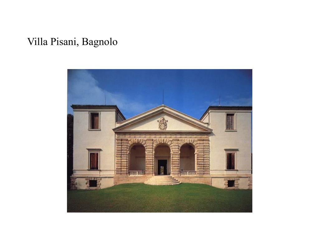 Villa Pisani, Bagnolo