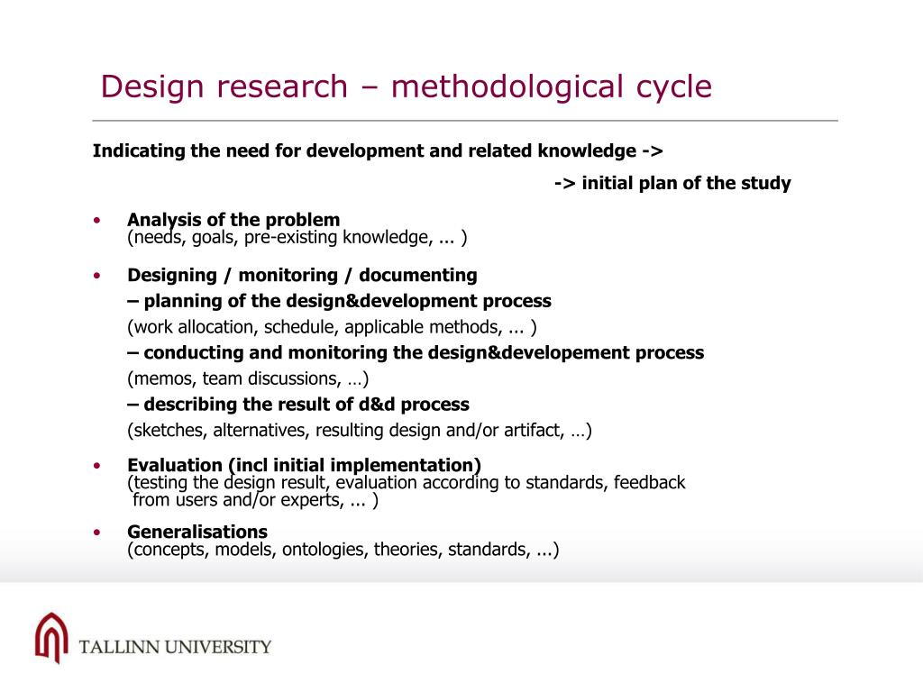 Design research –