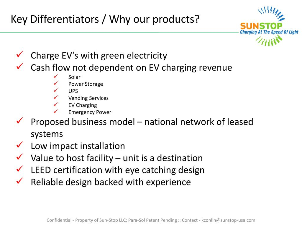 Key Differentiators / Why our products?