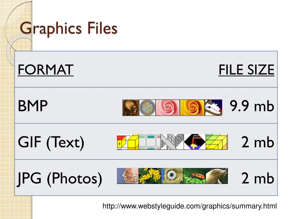Graphics Files