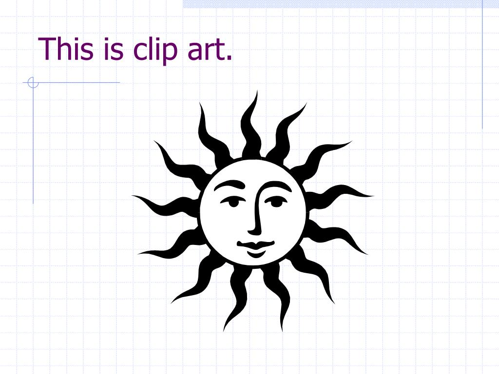 This is clip art.