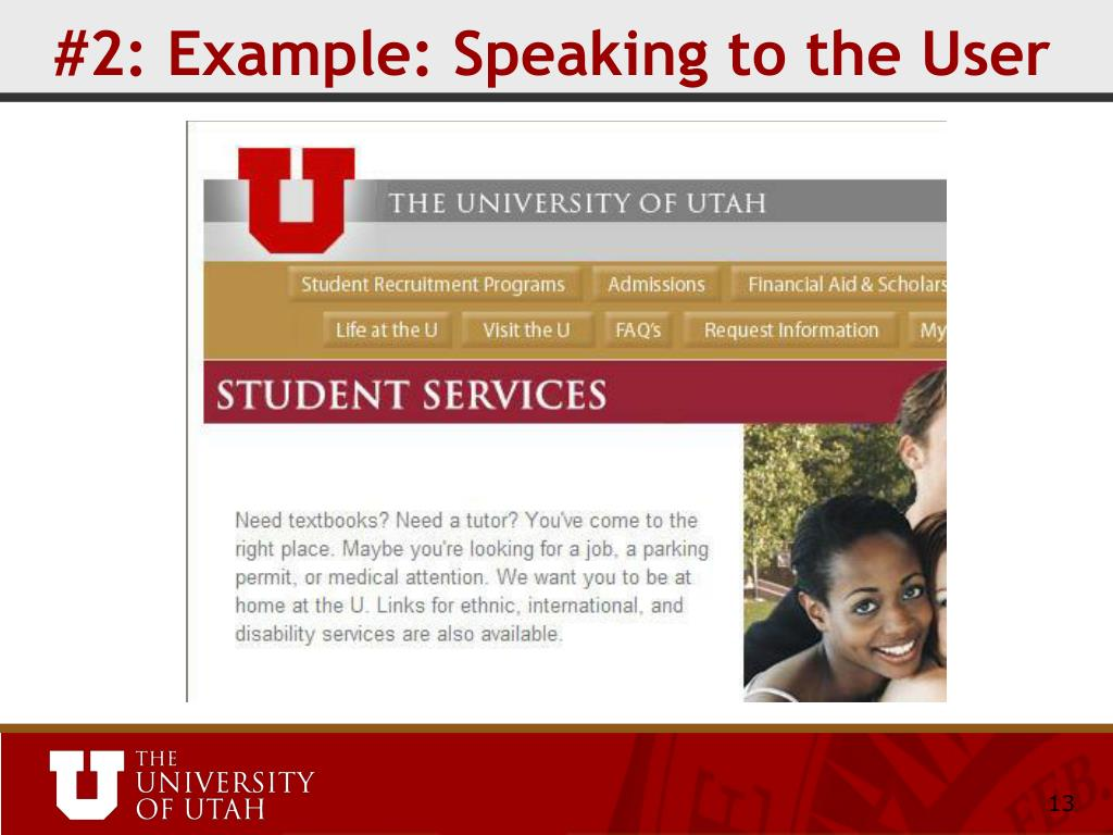 #2: Example: Speaking to the User