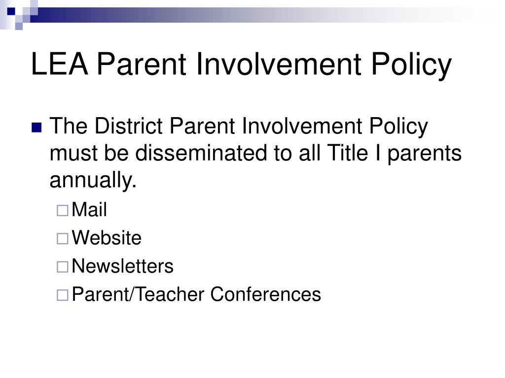 qualifications of a parent Teacher qualifications at the beginning of each school year, a local educational agency (lea) that receives funds under title i, part a, must notify the parents of each student attending any school receiving these funds, that the parents may request, and if the agency will provide the parents on request (and in a timely manner), information regarding the professional qualifications of the .