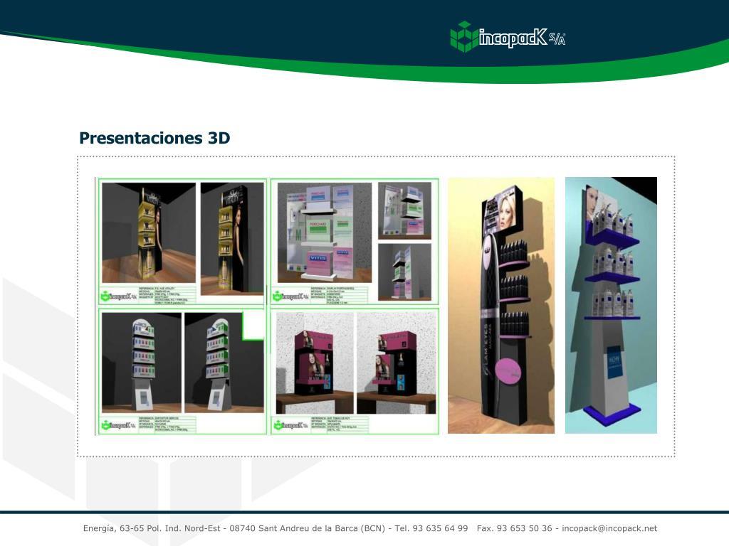 Presentaciones 3D