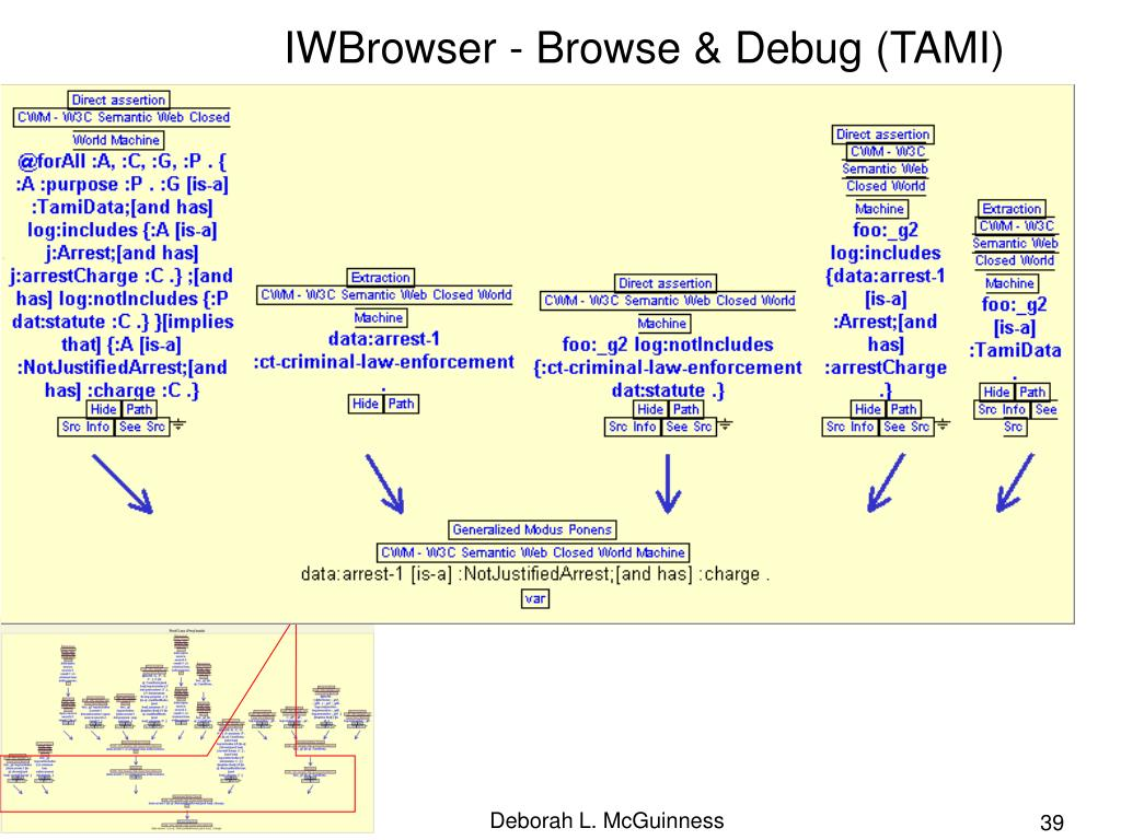 IWBrowser - Browse & Debug (TAMI)