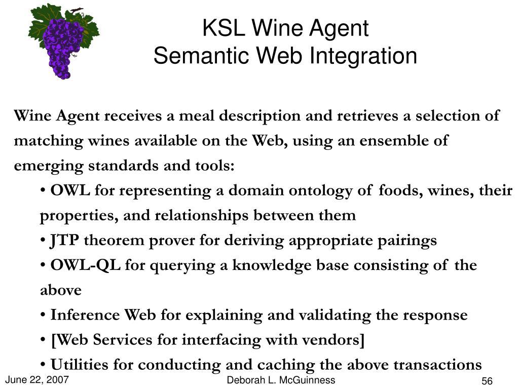 KSL Wine Agent