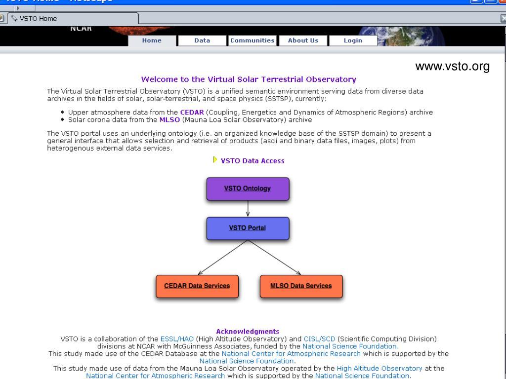 www.vsto.org