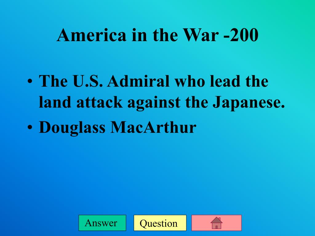 The U.S. Admiral who lead the land attack against the Japanese.