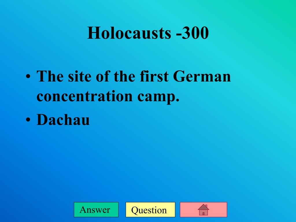 The site of the first German concentration camp.