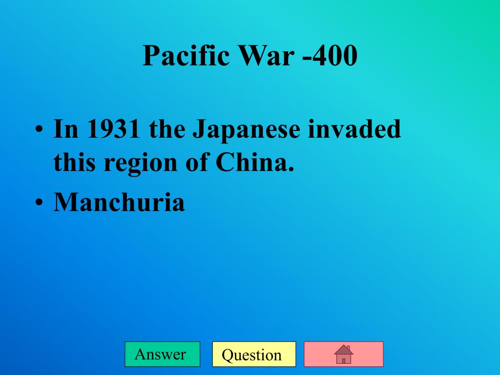 In 1931 the Japanese invaded this region of China.