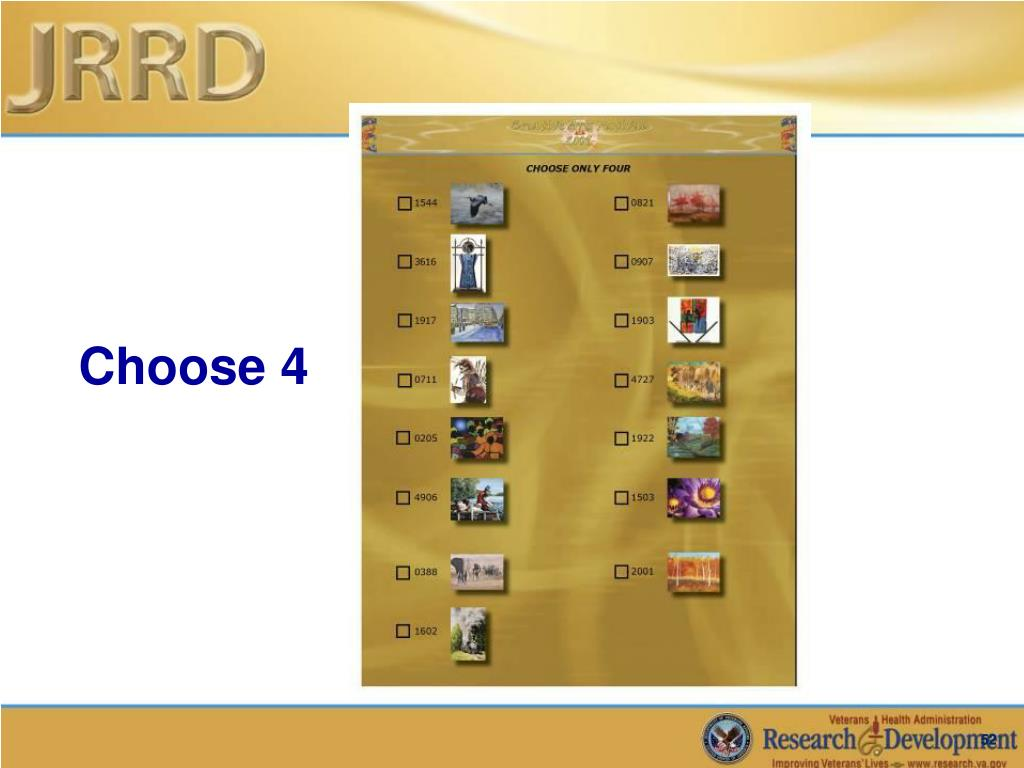 Choose 4