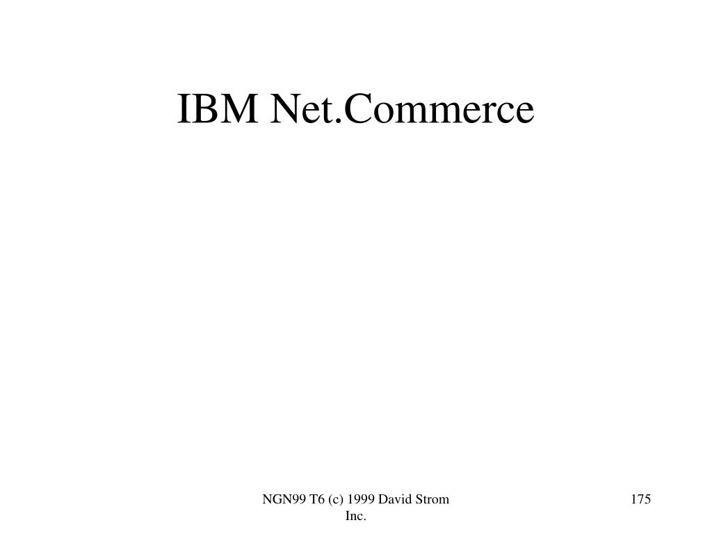IBM Net.Commerce