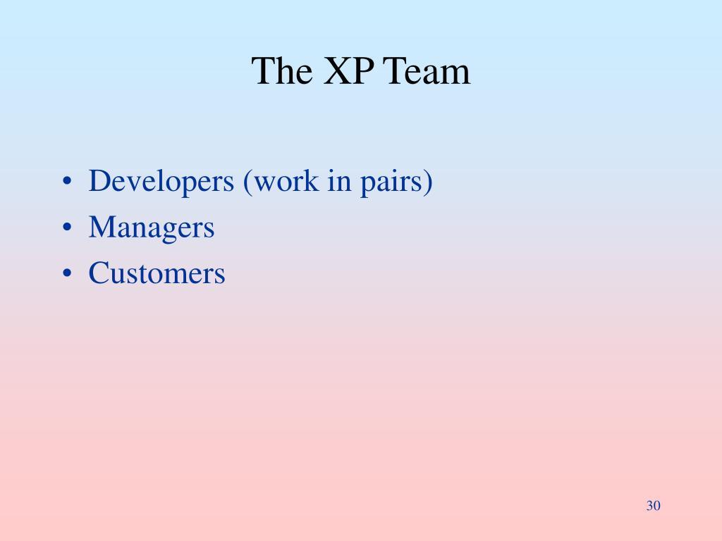 The XP Team