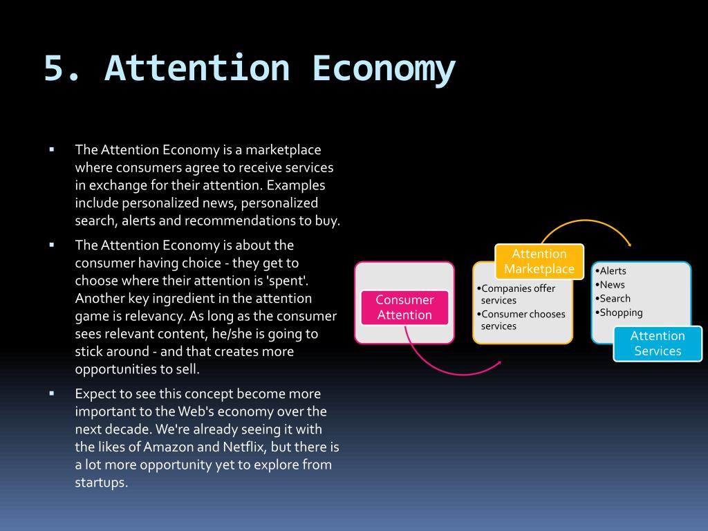 5. Attention Economy