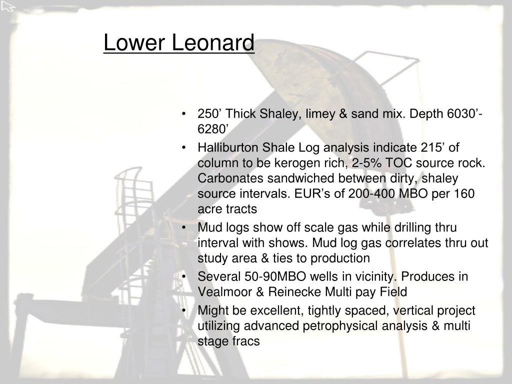 Lower Leonard