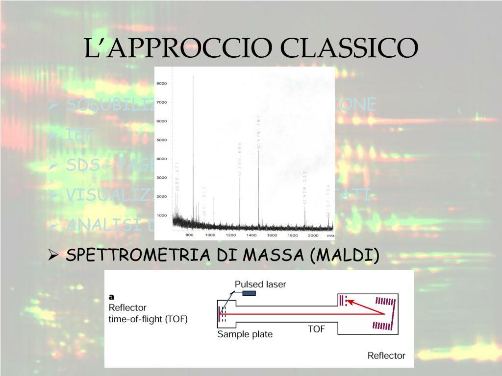 L'APPROCCIO CLASSICO