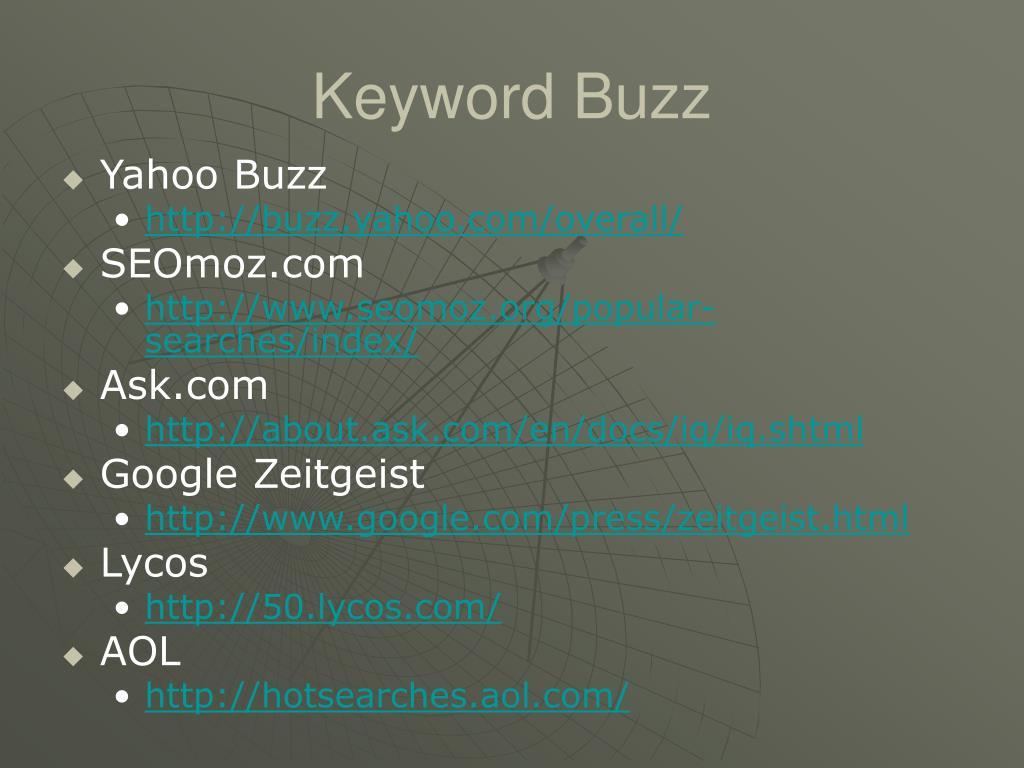 Keyword Buzz