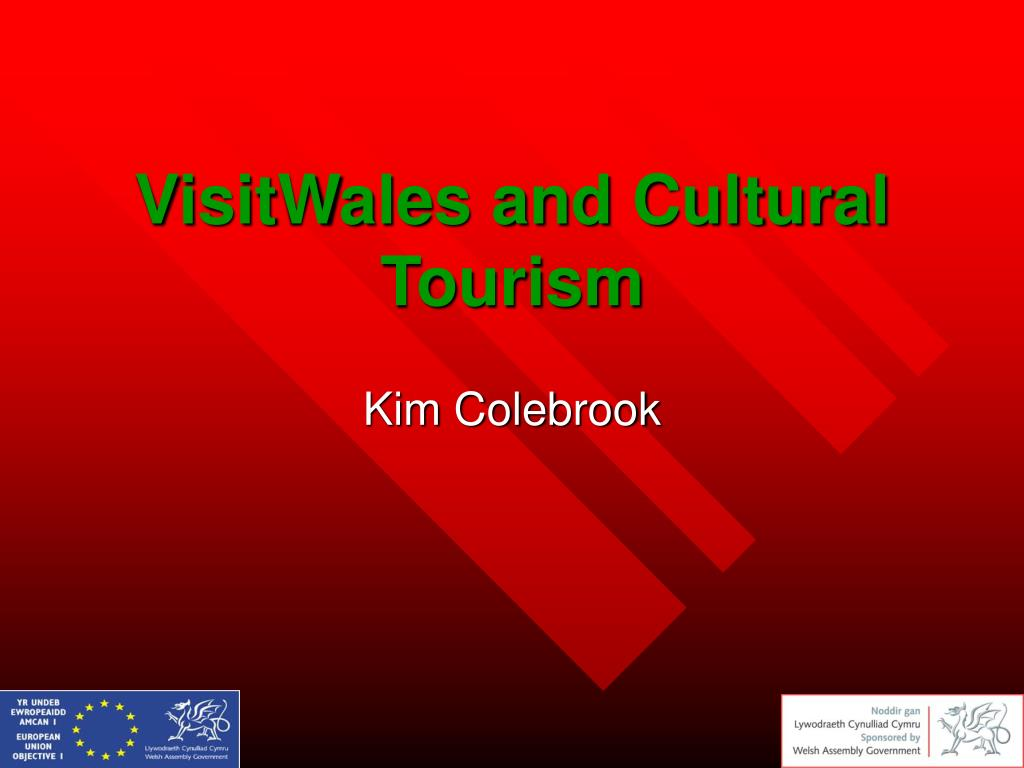 visitwales and cultural tourism