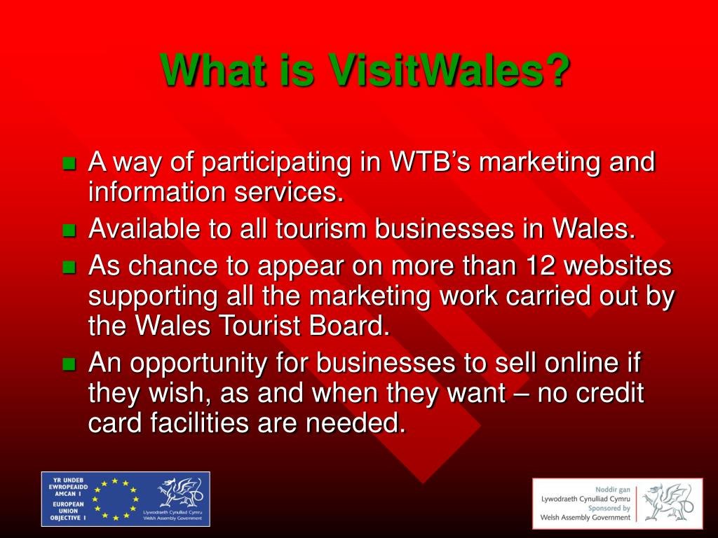 What is VisitWales?