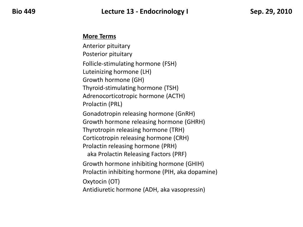 Bio 449Lecture 13 -