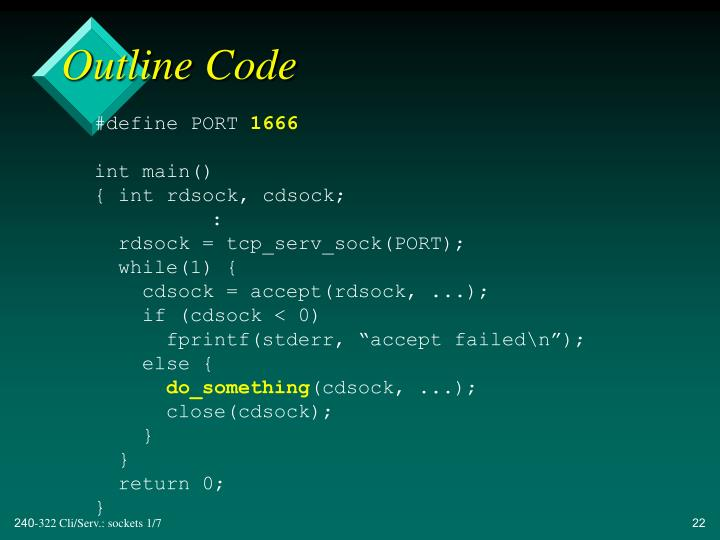 Outline Code