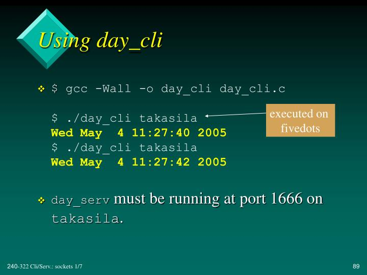 Using day_cli