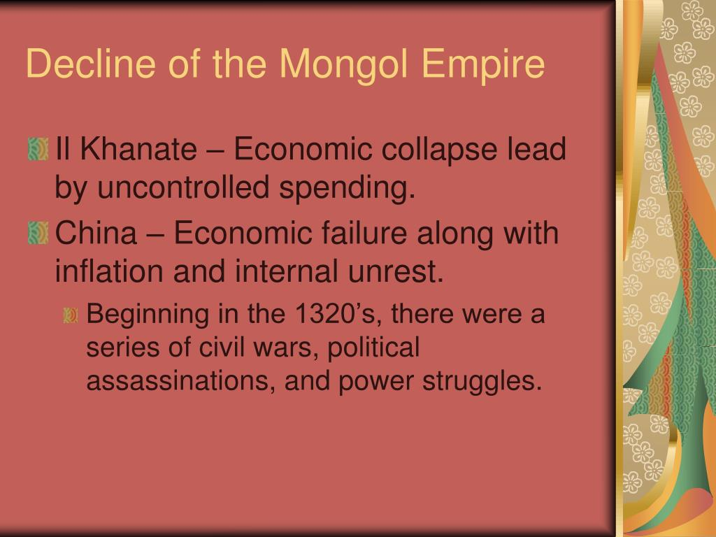 Decline of the Mongol Empire